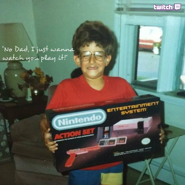 Nintendo Kid Twitch