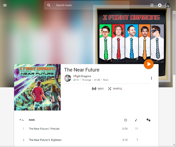 GoogleMusicMaterial