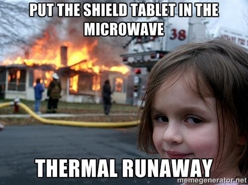 Nvidia thermal runaway
