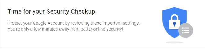 SecurityCheckup