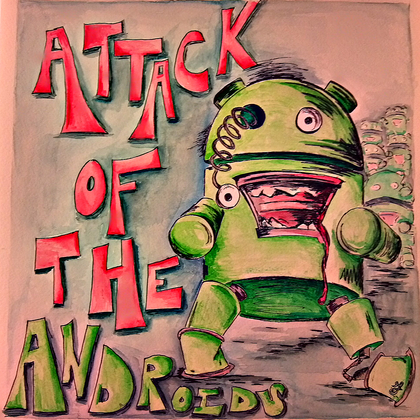Attack of the Androids